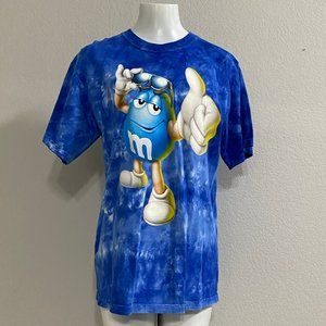 NWOT M&M's World Tie-Dye T-Shirt Size Med m & m